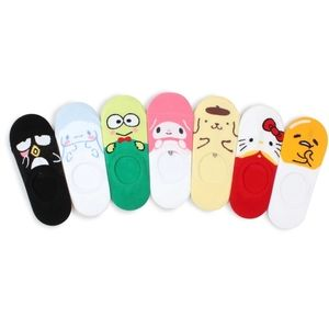 CHOOSE ONE PAIR SANRIO NO SHOW SOCKS
